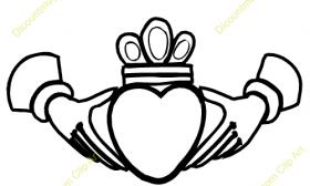 280x168 Claddagh Ring Clipart