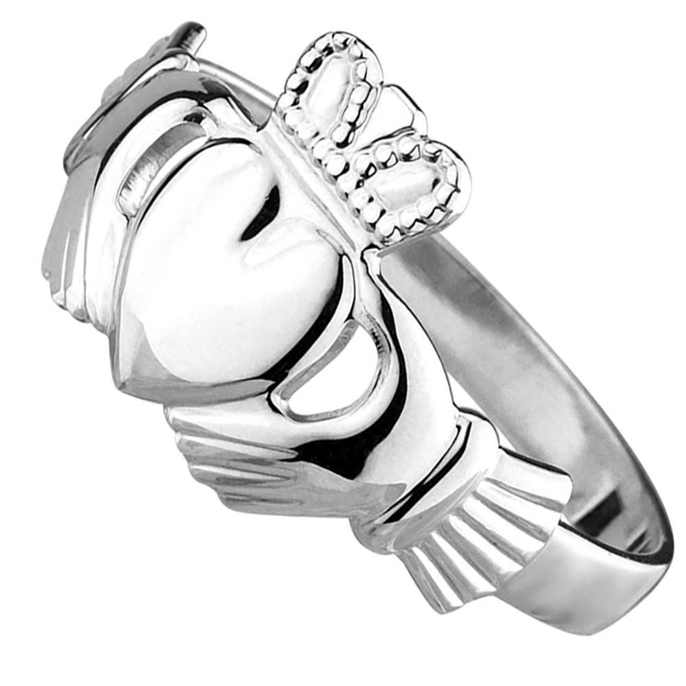1000x1000 Solvar Claddagh Ring Awesome Men S Gold Claddagh Ring Solvar