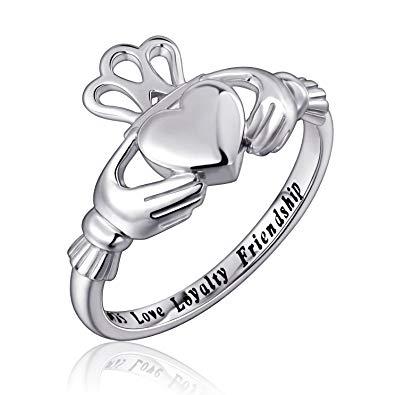 395x395 Sterling Silver Love Loyalty Friendship Irish