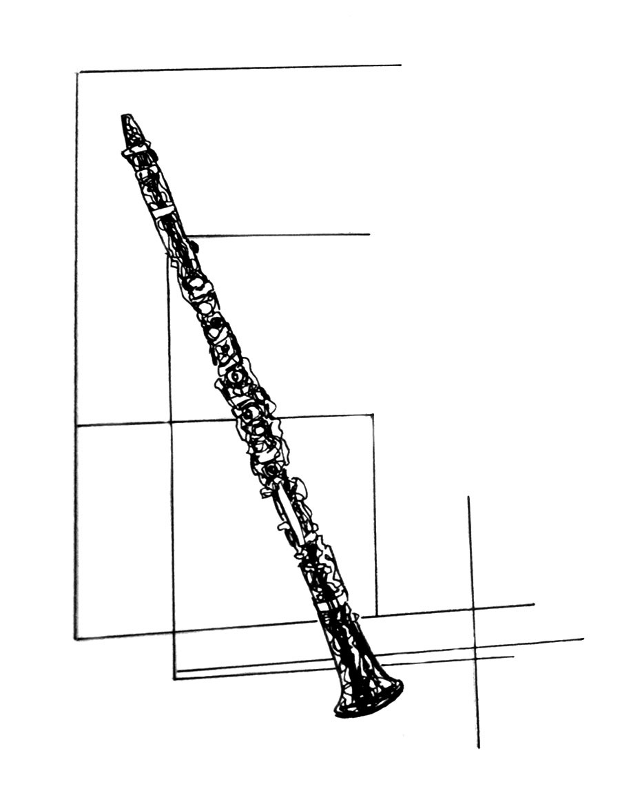 900x1154 kh daily drawing daily drawing, week a week of clarinets why