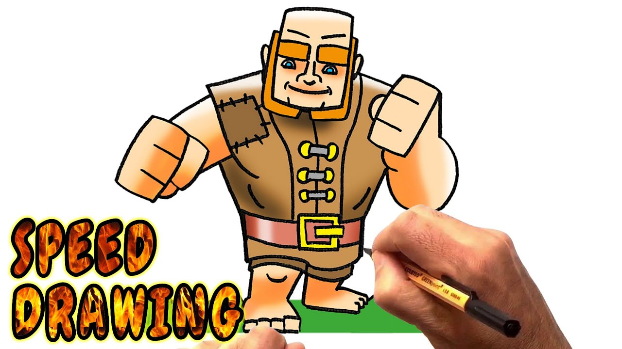 clash of clans drawing  free download on clipartmag
