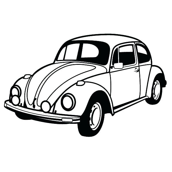 600x600 Collection Of Coloring Pages Classic Cars Download Them And Try