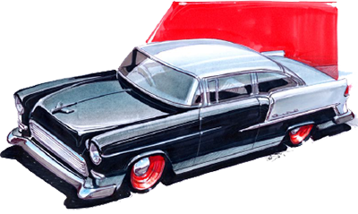 400x239 Fast Drawing Classic Car Huge Freebie! Download For Powerpoint