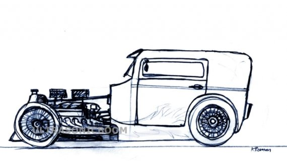 570x320 How To Draw Classic Cars