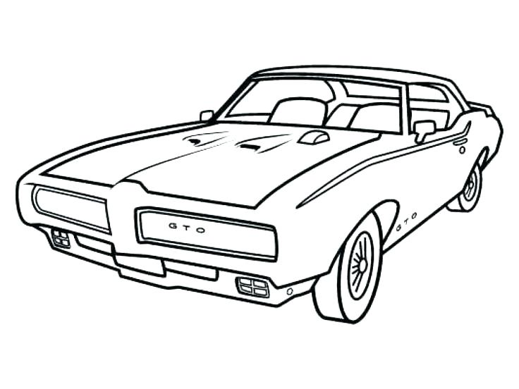 736x552 Car Sketches For Coloring