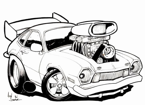 482x350 Cars Drawings New Chip Foose Cars Drawing
