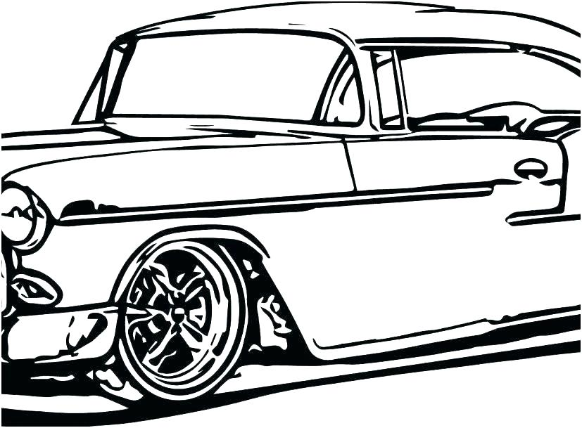 827x609 coloring pages classic car coloring pages cars pag classic car