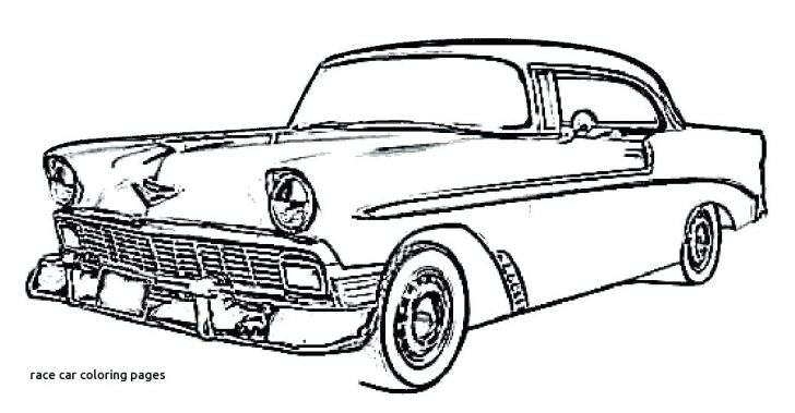 728x379 How To Draw Classic Car Coloring Pages For Adults Free Printable