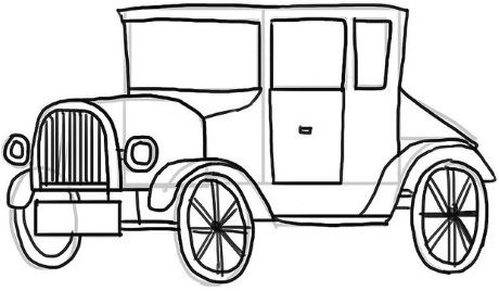 460x268 How To Draw A Classic Car