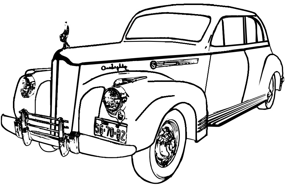 1007x662 Car Clipart Black And White