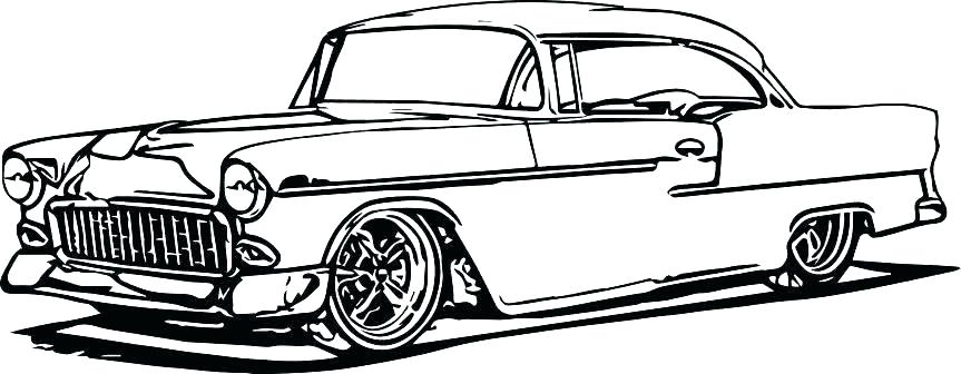863x336 classic muscle car coloring pages car coloring pages classic