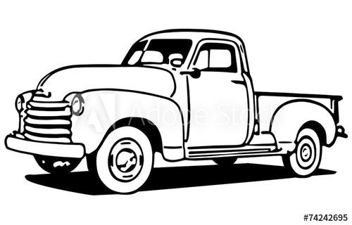 500x320 Chevy Pickup Truck