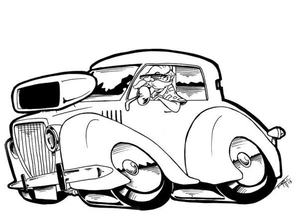 600x438 Chevy Truck Drawings Fine Art America