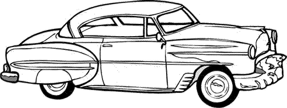 1000x379 Classic Car Coloring Pages Luxury Car And Truck Coloring Pages