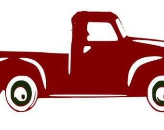 340x270 Collection Of 'antique Truck Silhouette' Download More Than
