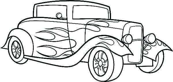 600x287 old truck coloring pages free truck coloring pages police pickup