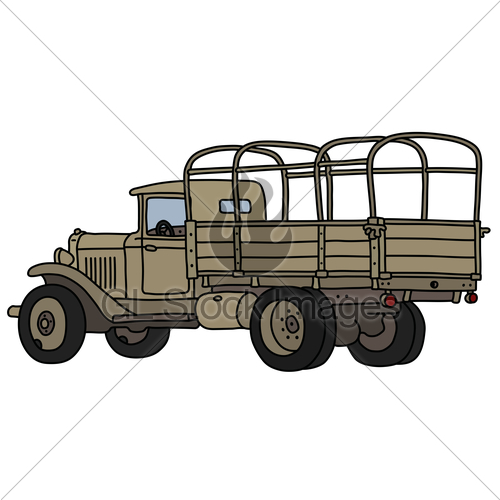 500x500 The Classic Sand Military Truck Gl Stock Images