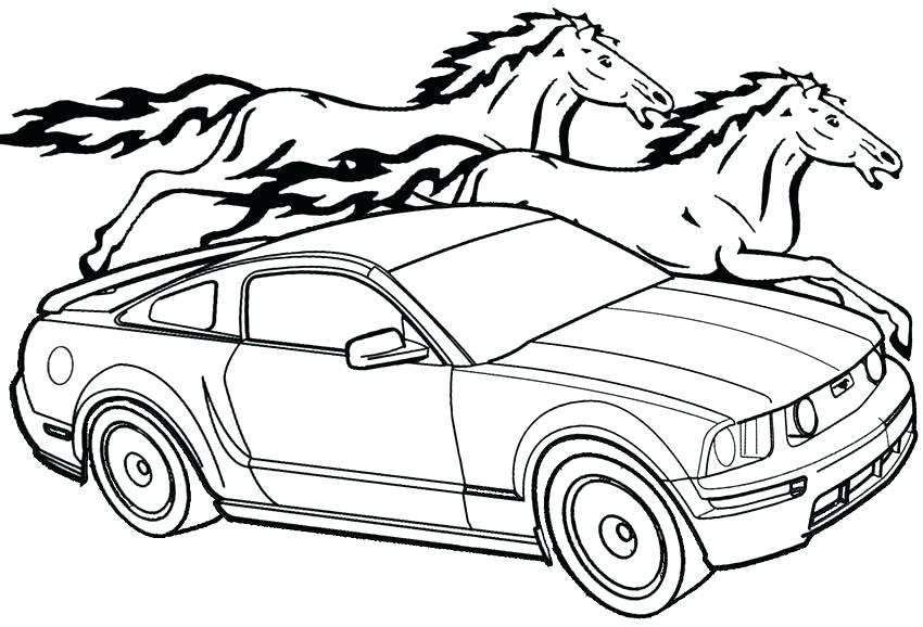 850x578 Ford Truck Coloring Pages