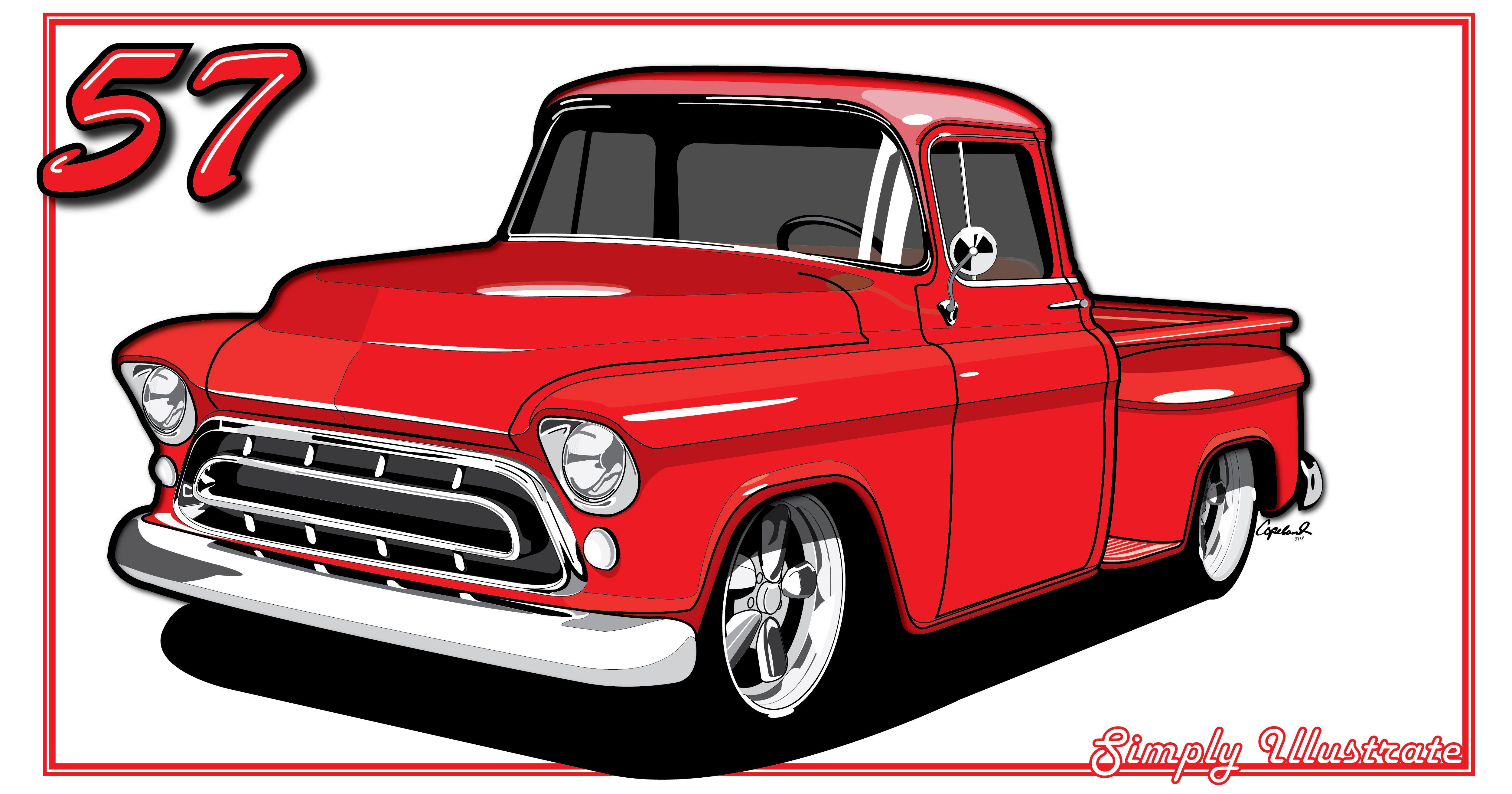 5000x2625 Chevy Truck Simply Illustrate Chevy Trucks, Trucks, Chevy
