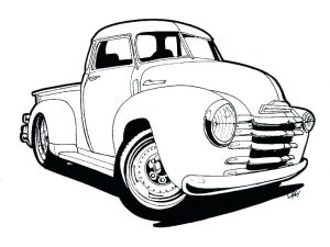 300x225 Best Ideas Of Classic Cars Drawing