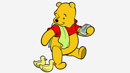 454x255 Top Free Printable Cute Winnie The Pooh Coloring Pages Online