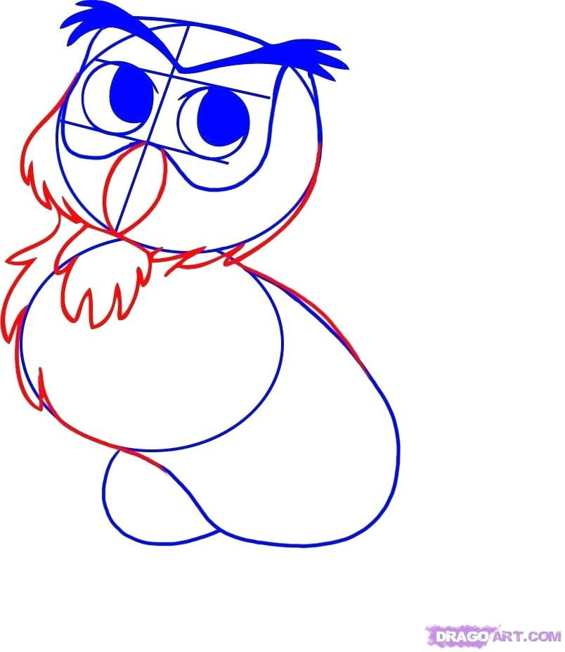 804x927 How To Draw Owl From Winnie The Pooh