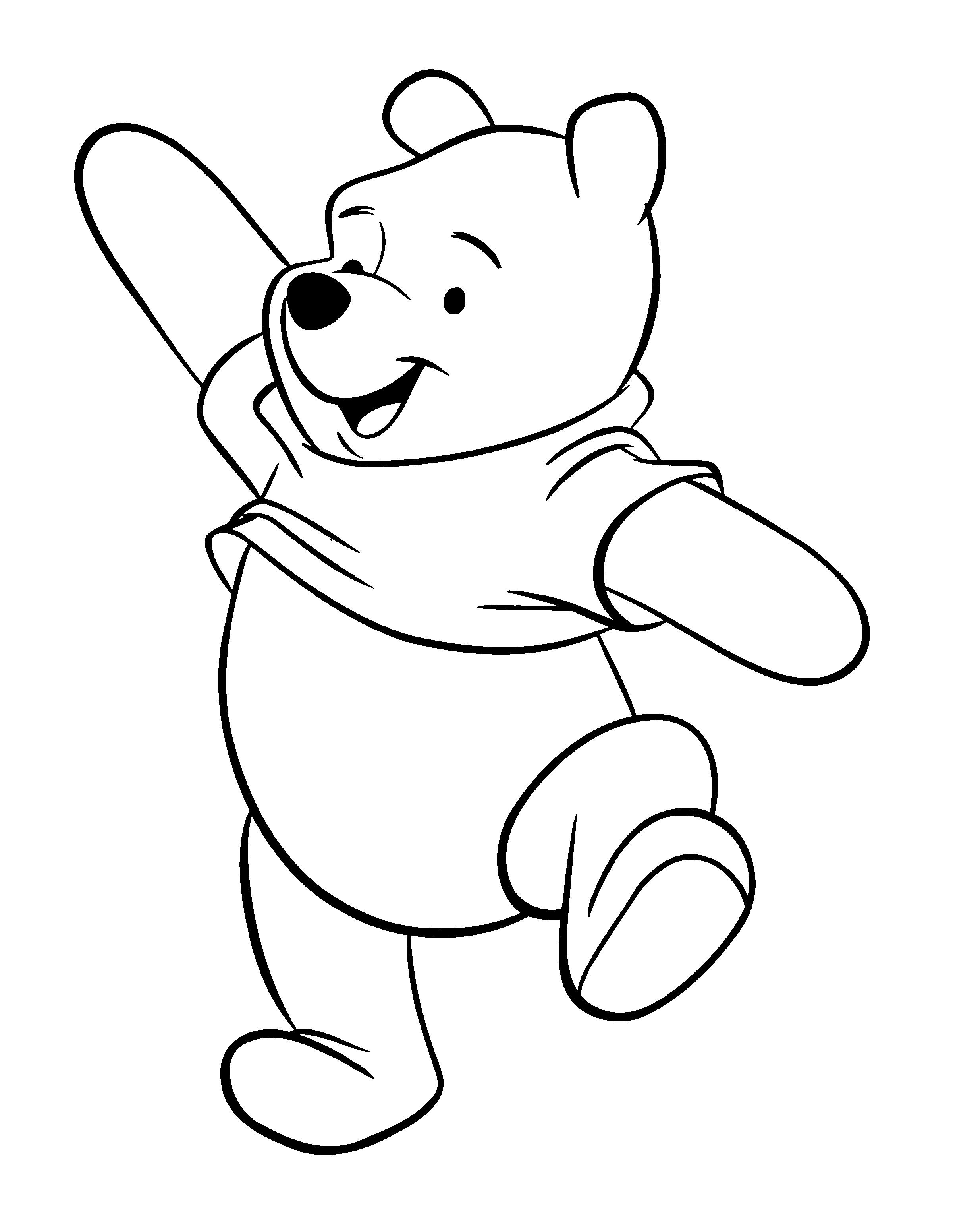 2400x3100 Baby Winnie The Pooh And Friends Coloring Pages Awesome Classic