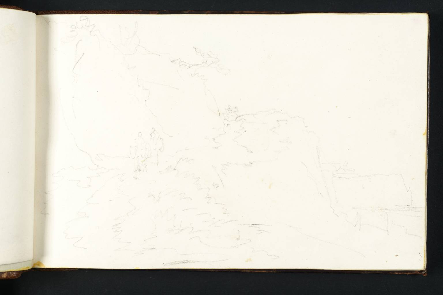 1536x1024 figures on a cliff road', joseph mallord william turner, tate