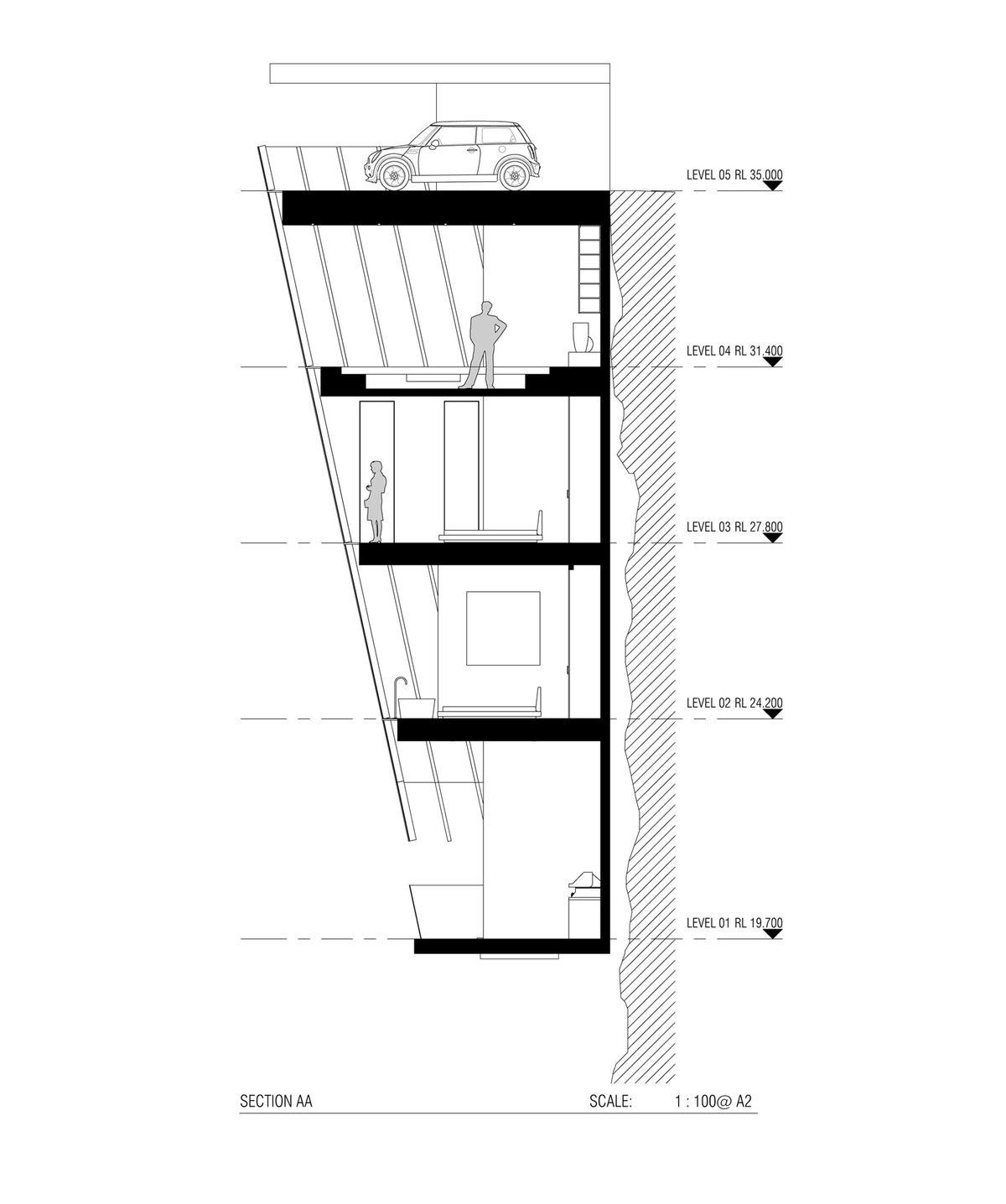 1200x1436 living on the edge australians design house that hangs off cliff