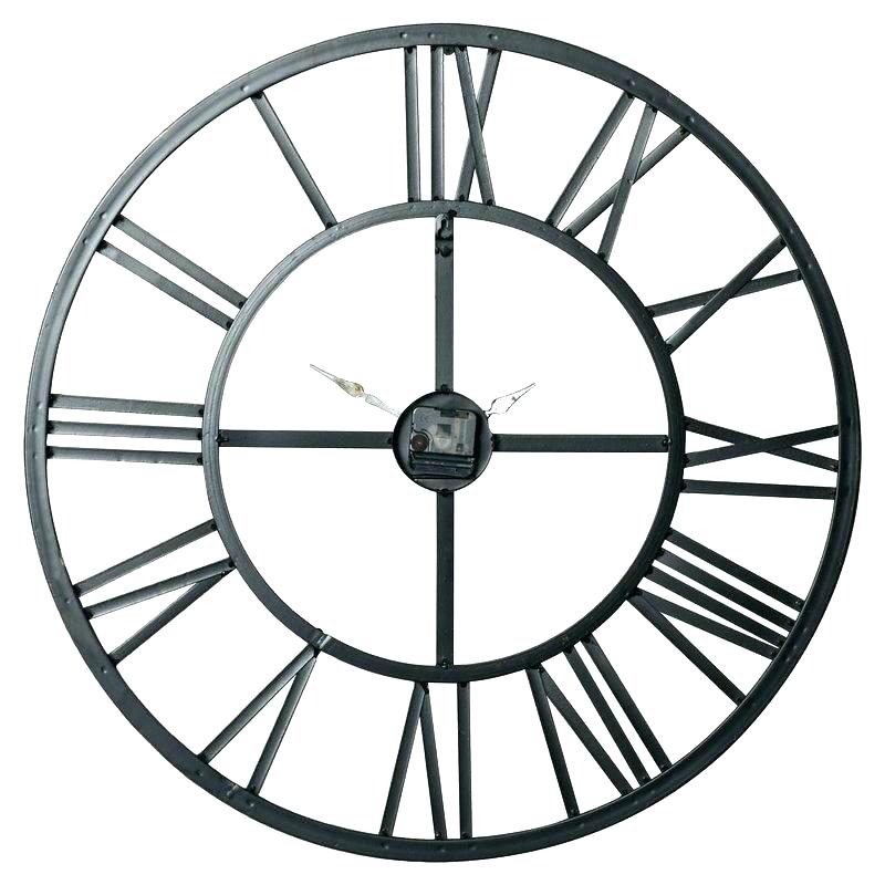 800x800 roman numeral clock drawing oversized roman numeral wall clock