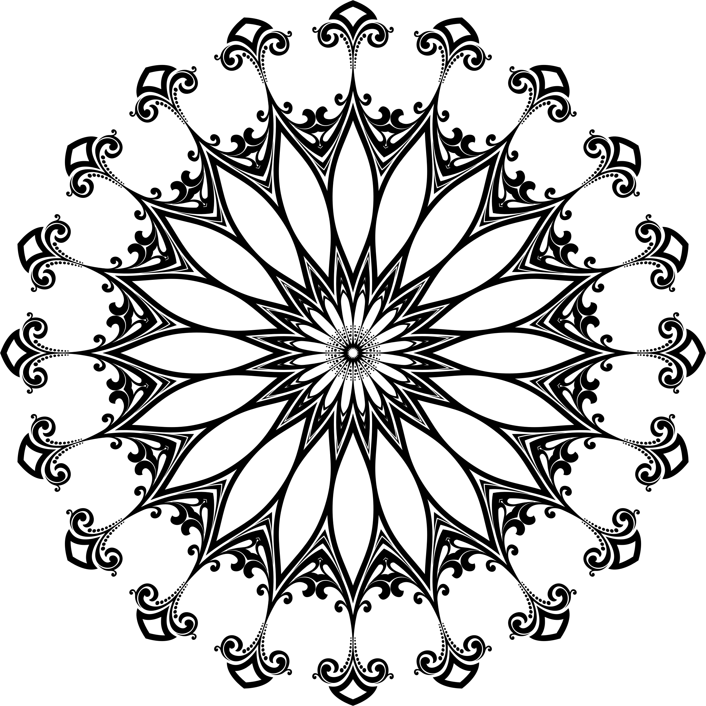Clock Line Drawing