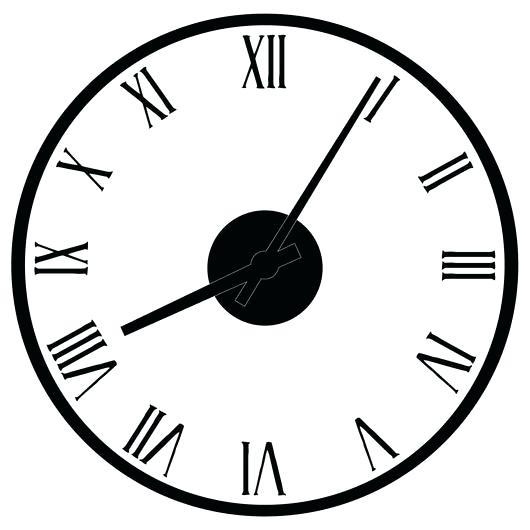 530x530 roman number clock vintage roman numeral clock roman numeral clock