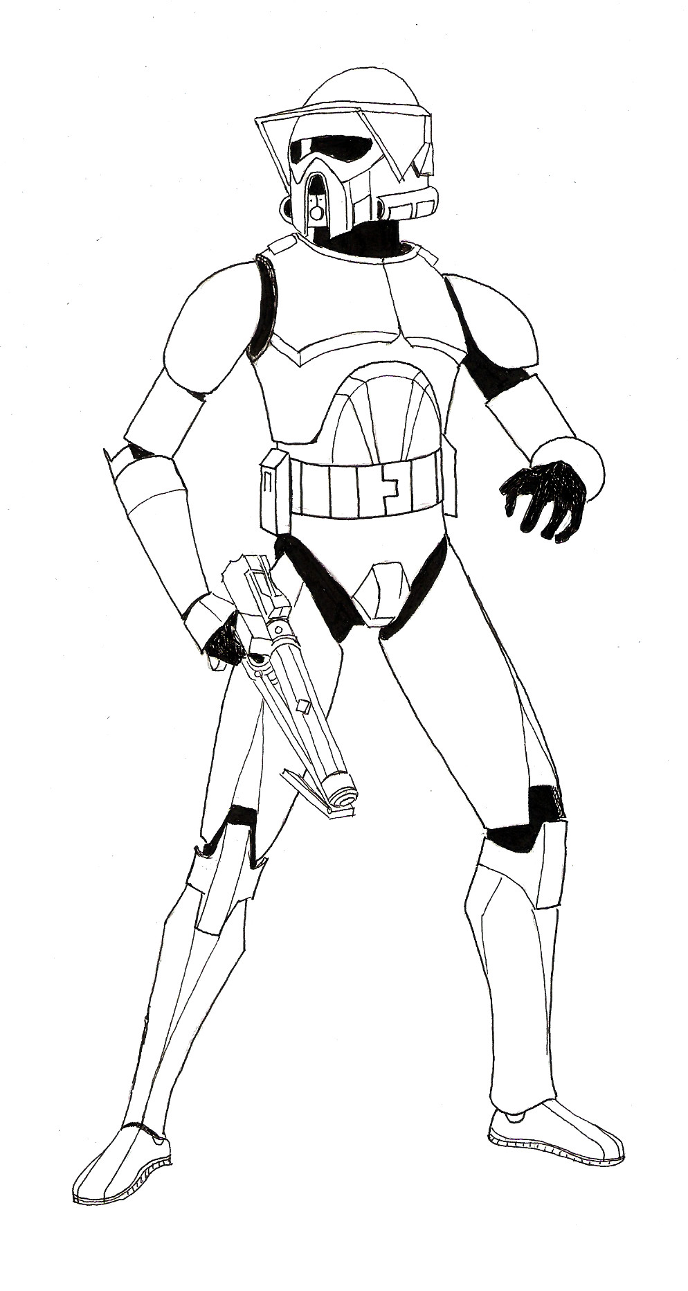clone trooper helmet drawing   free download on clipartmag