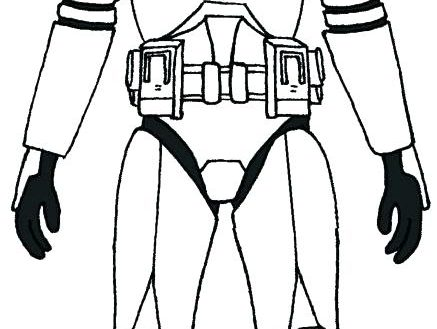 Clone Trooper Drawing