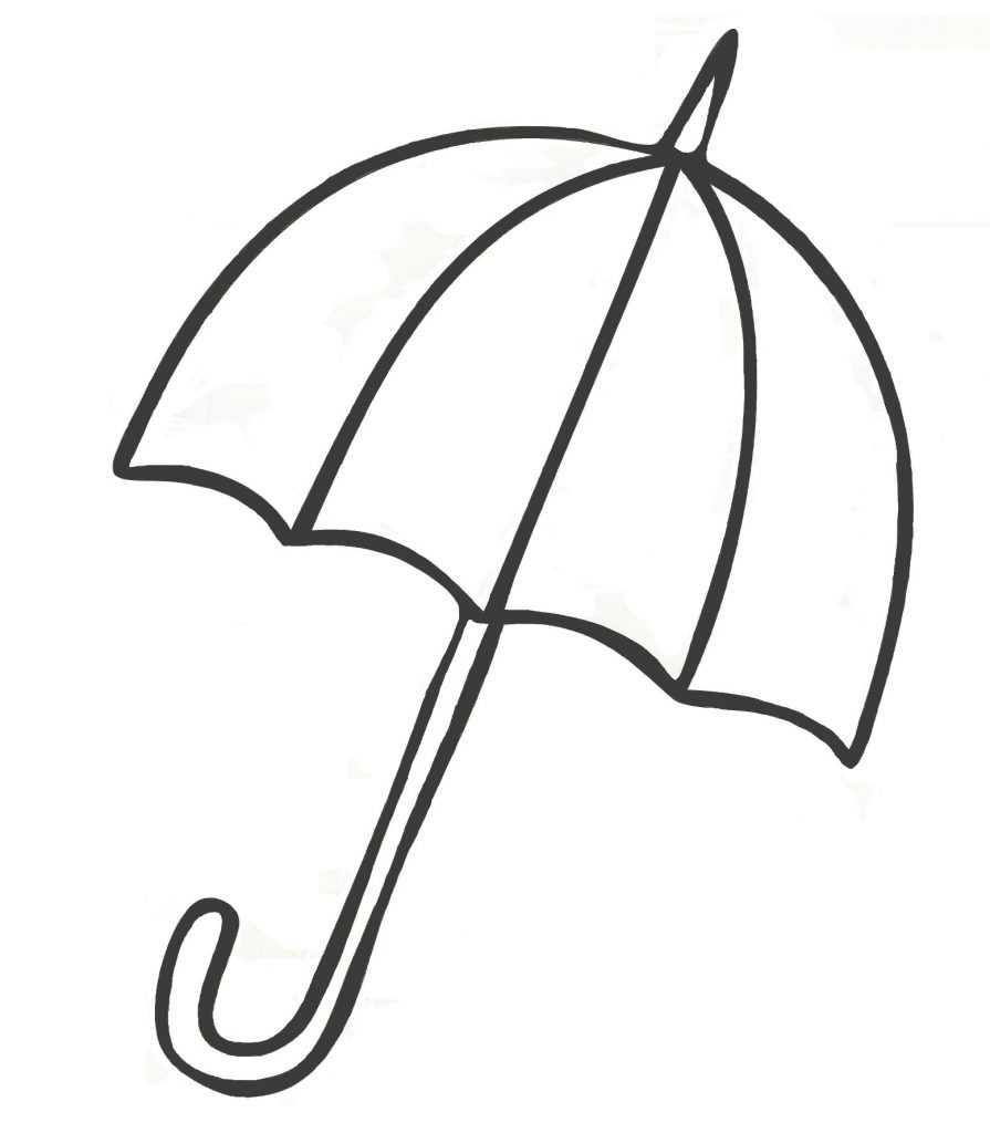 895x1024 beach umbrella coloring save beach umbrella drawing at getdrawings