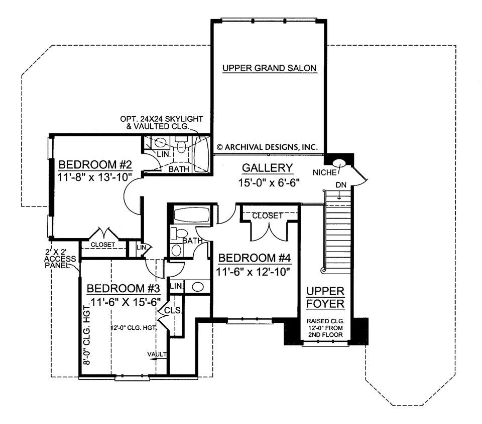 960x846 loudon traditional floor plans colonial floor plans archival