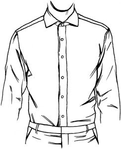244x300 dress shirt front placket types shirts shirts, shirt drawing