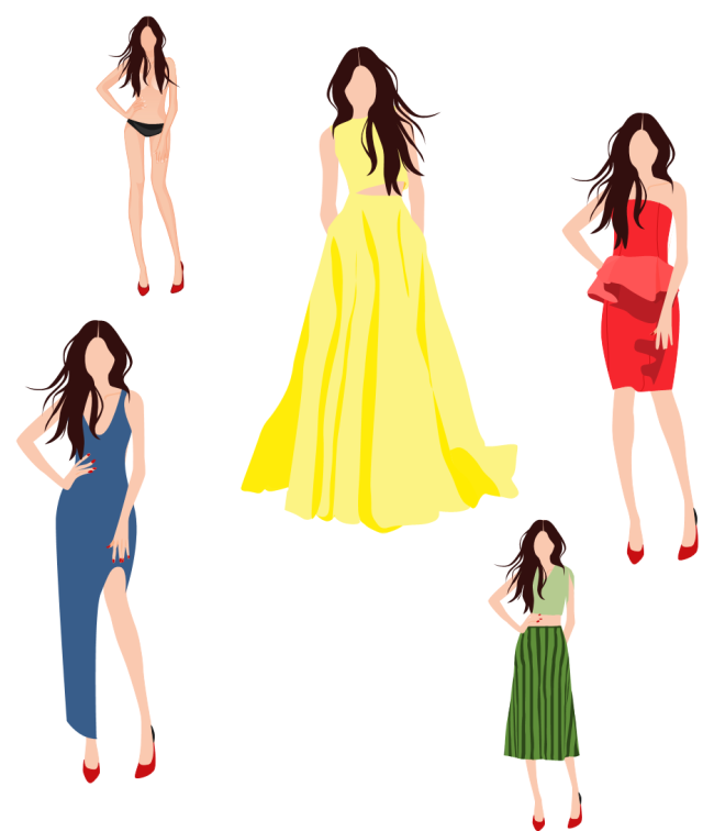 Clothing Drawing Templates | Free download best Clothing