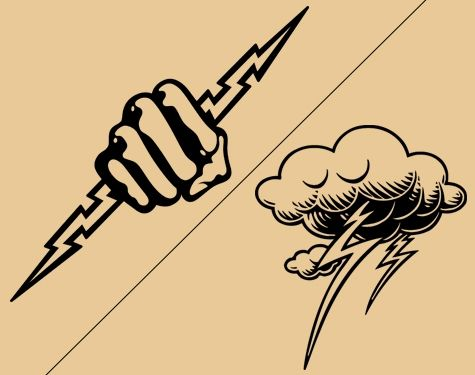 475x375 Lightning Bolt Tattoo Meaning And Really Creative Design Ideas