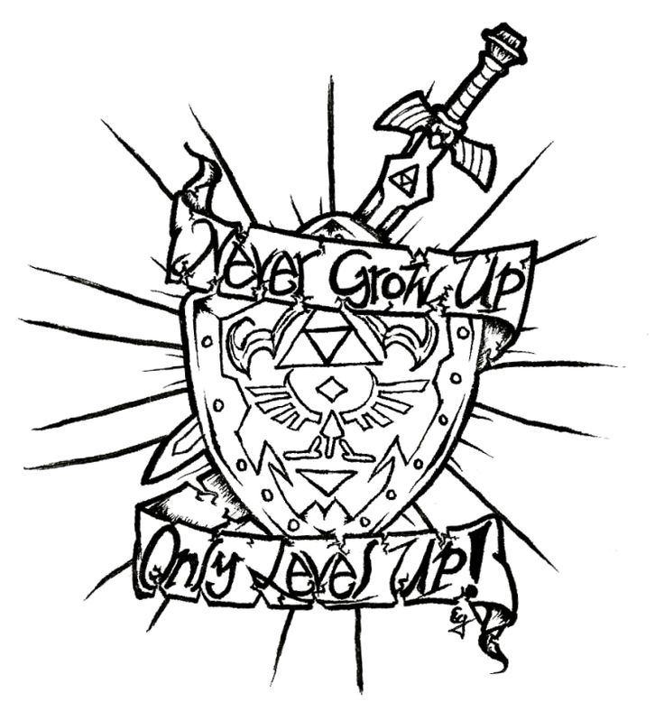 736x799 Gaming Drawing Tattoo For Free Download