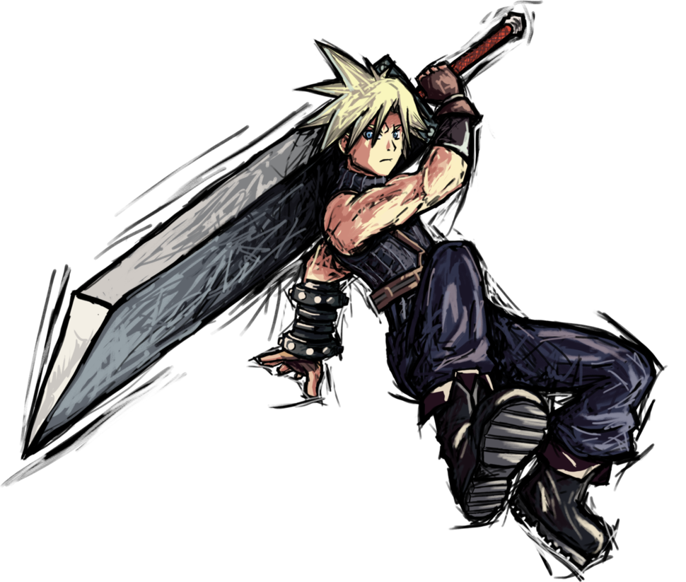 970x823 cloud strife super smash bros super smash bros, super smash