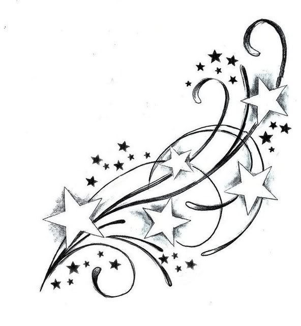 592x640 Beautiful Star Tattoos And Meaningful Ideas