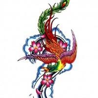 200x200 Cherry Blossom Tattoo Designs