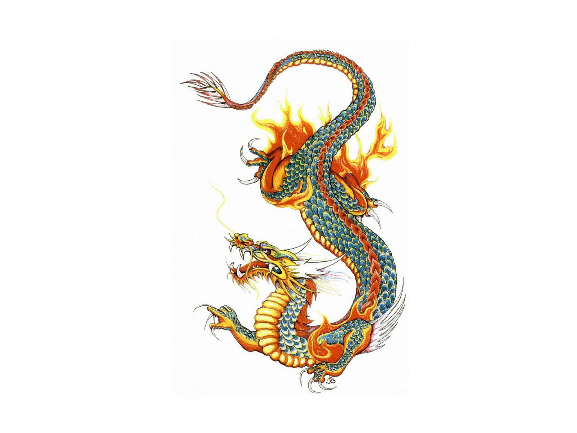 1920x1440 Dragon Head And Sword Tattoo Designs Soidergi