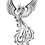 150x150 Phoenix And Clouds Tattoos Sketch Tattoo Ideas