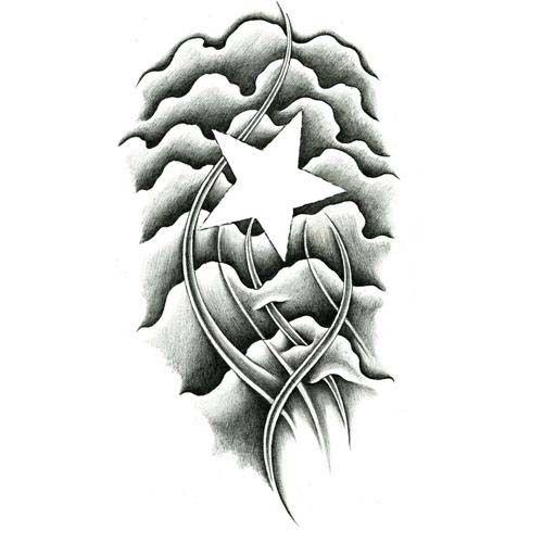 500x500 Star Tattoos, Tattoo Designs Gallery