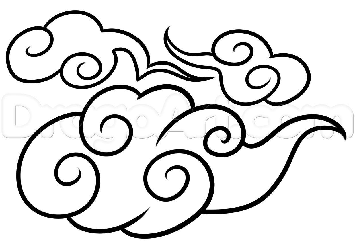 1238x858 Cloud Drawing Design For Free Download