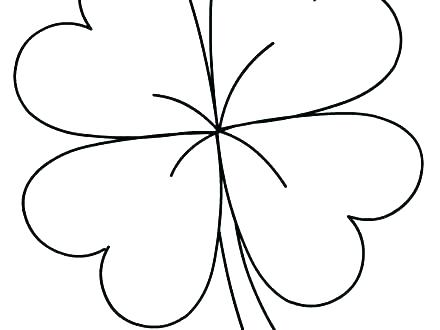 Clover Leaf Drawing