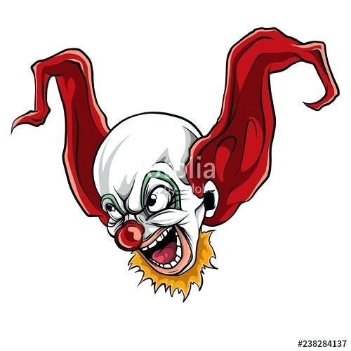 500x500 killer clown drawings killer clown drawing scary killer clown