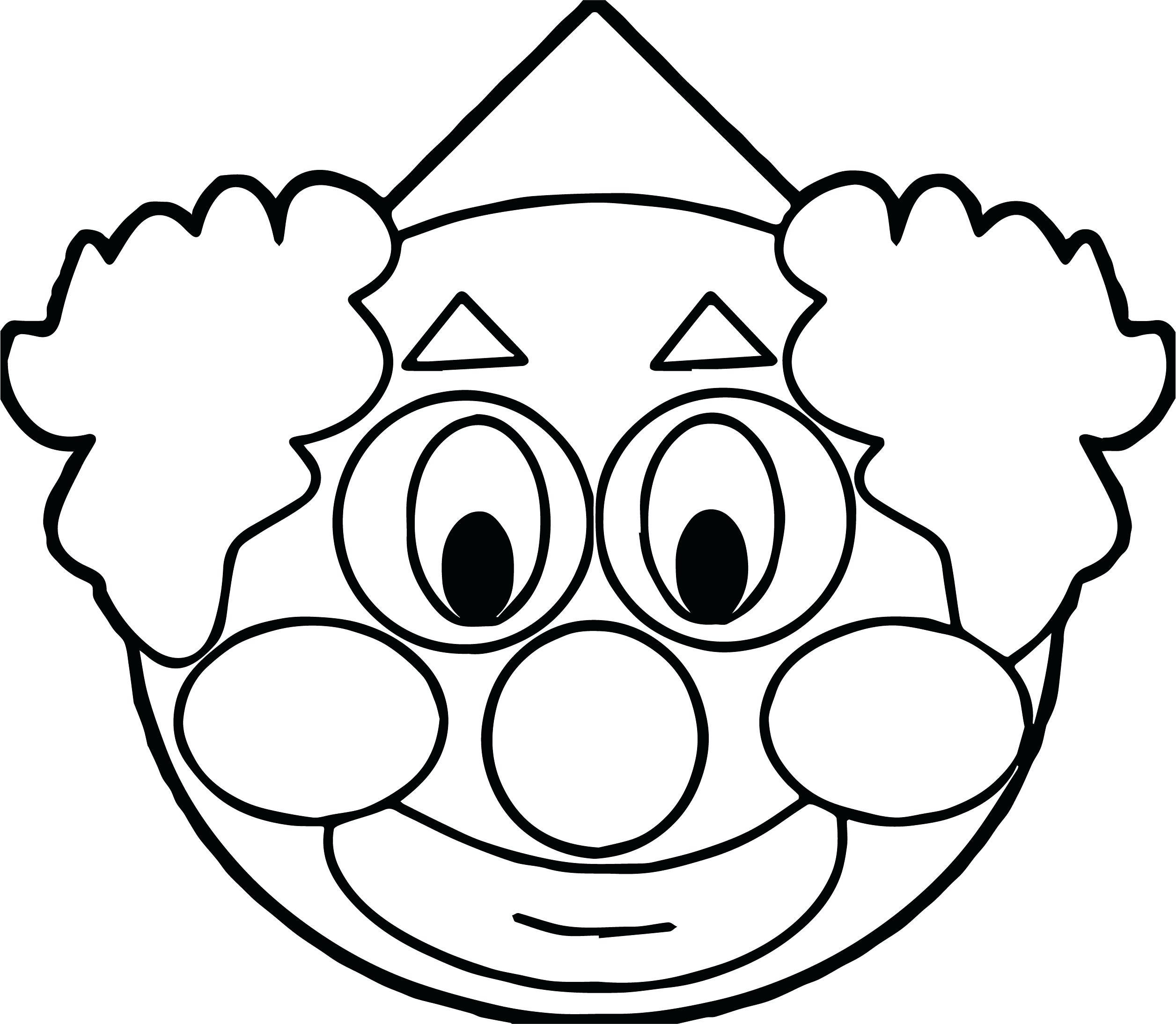 2512x2188 alert famous clown face coloring